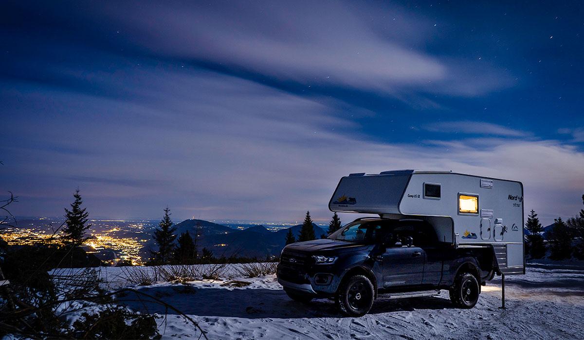 Ford Pick Up 4x4 mit Wohnkabine in Berchtesgaden