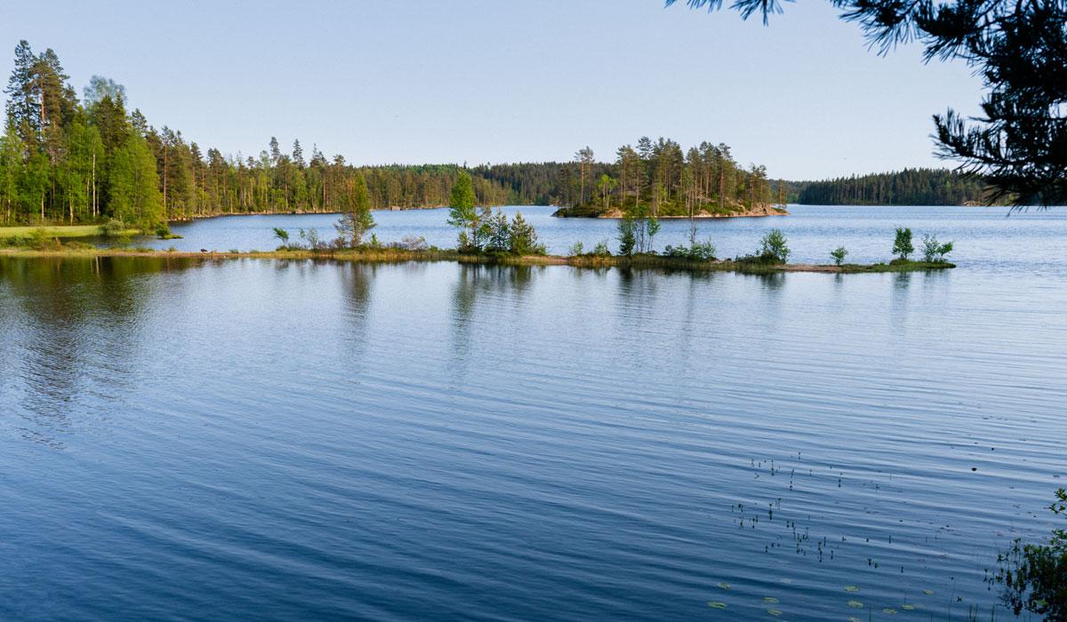 Schweden Seenlandschaft