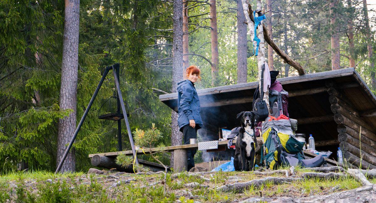 Shelter im Glaskogen Nationalpark