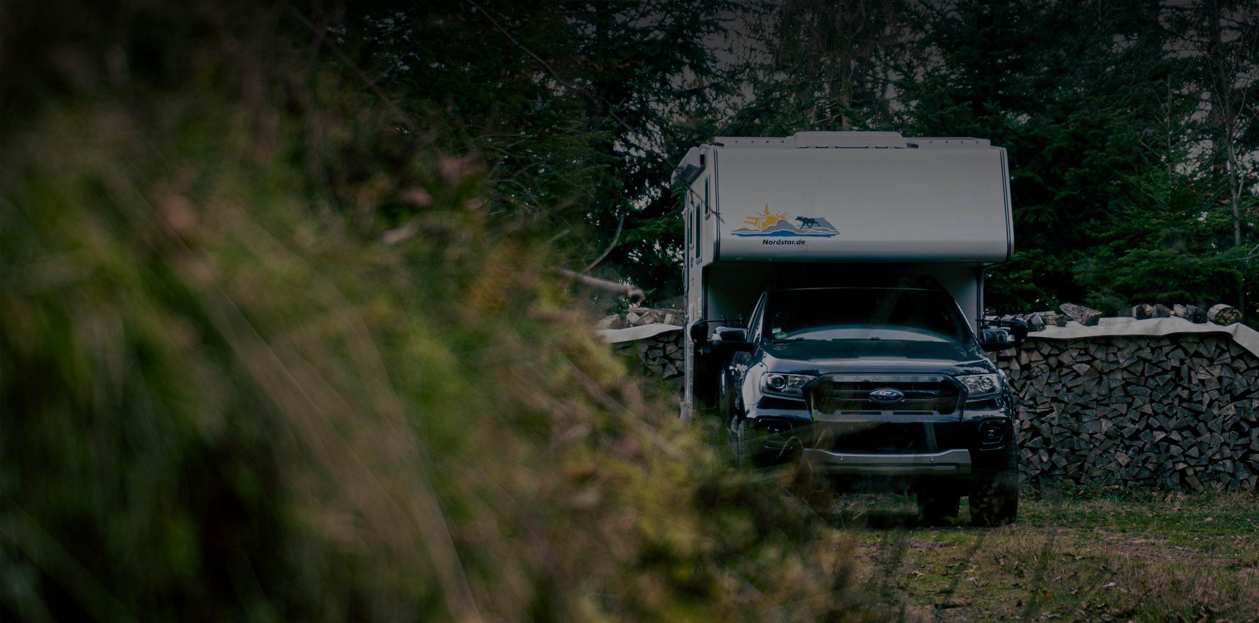 Ford Ranger mit Wohnkabine Nordstar Camp 8S SE