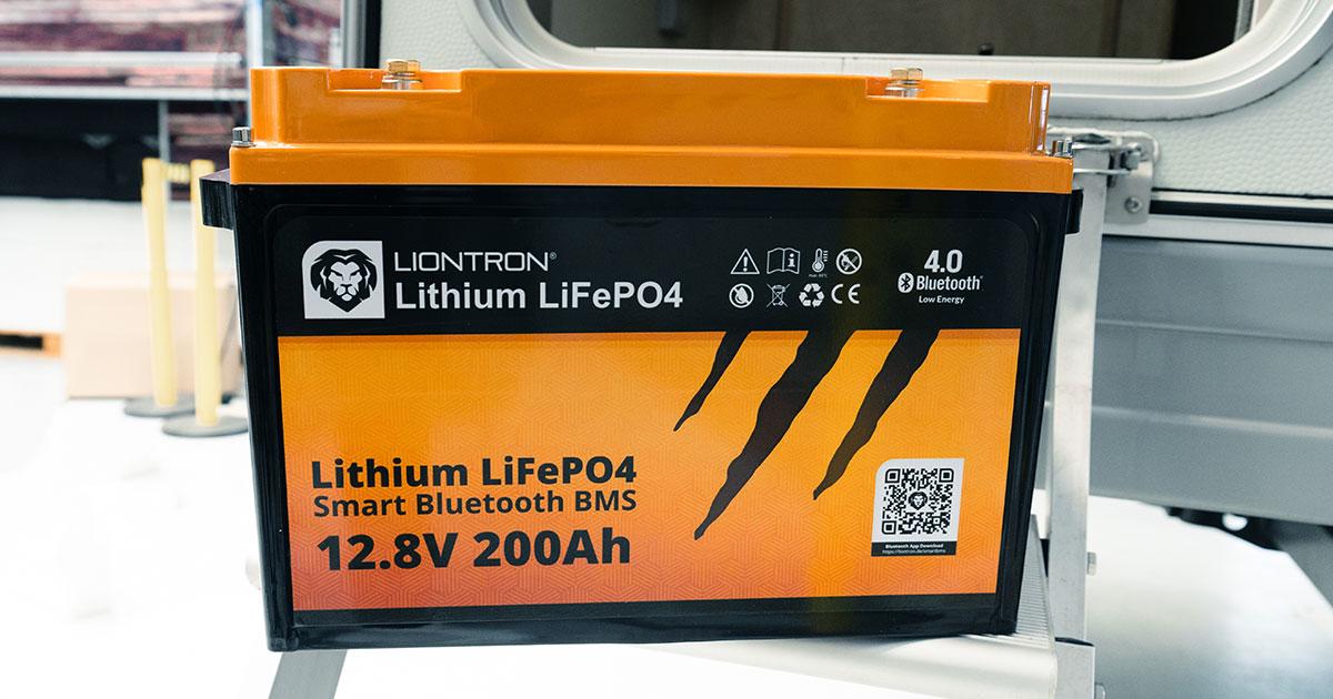 200ah Lithiumbatterie von Liontron